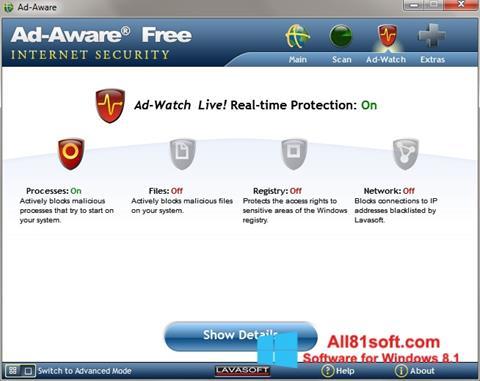 स्क्रीनशॉट Ad-Aware Windows 8.1