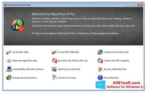स्क्रीनशॉट MacDrive Windows 8.1