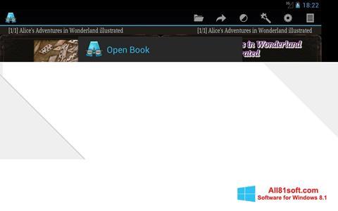 स्क्रीनशॉट AlReader Windows 8.1