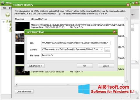 स्क्रीनशॉट Free Video Catcher Windows 8.1