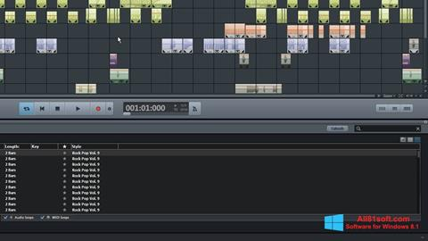 स्क्रीनशॉट MAGIX Music Maker Windows 8.1