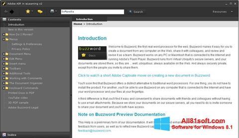 स्क्रीनशॉट Adobe AIR Windows 8.1