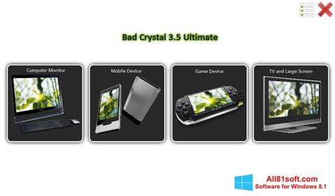 स्क्रीनशॉट Bad Crystal Windows 8.1
