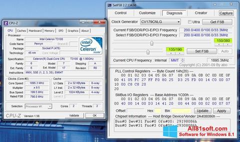 स्क्रीनशॉट SetFSB Windows 8.1