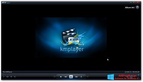 स्क्रीनशॉट KMPlayer Windows 8.1