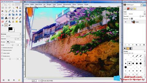 स्क्रीनशॉट GIMP Windows 8.1