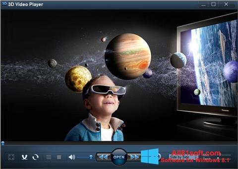 स्क्रीनशॉट 3D Video Player Windows 8.1