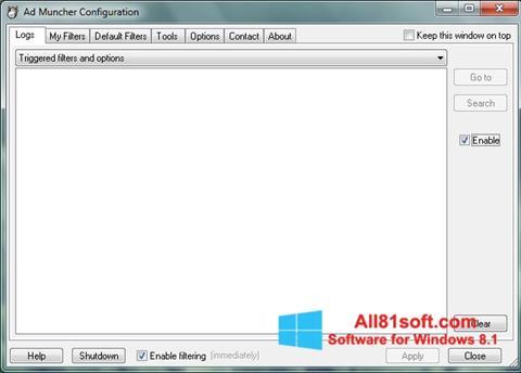 स्क्रीनशॉट Ad Muncher Windows 8.1