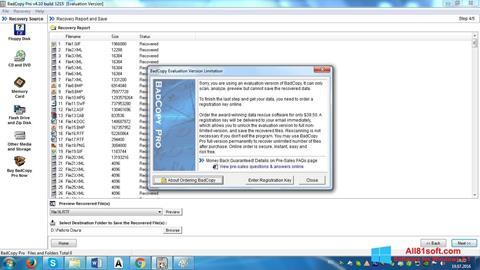 स्क्रीनशॉट BadCopy Pro Windows 8.1
