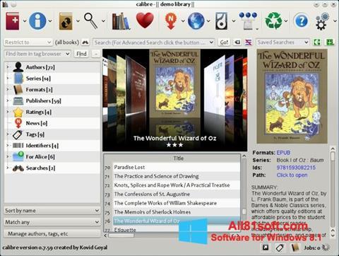 स्क्रीनशॉट Calibre Windows 8.1