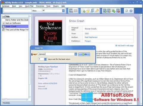 स्क्रीनशॉट All My Books Windows 8.1