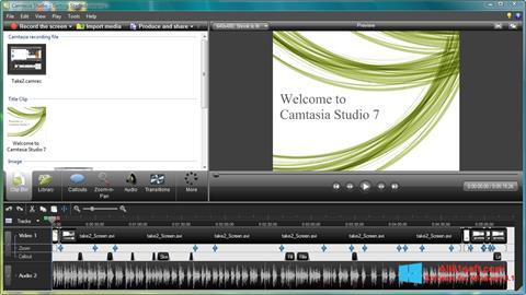 स्क्रीनशॉट Camtasia Studio Windows 8.1