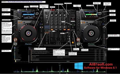 स्क्रीनशॉट Virtual DJ Windows 8.1