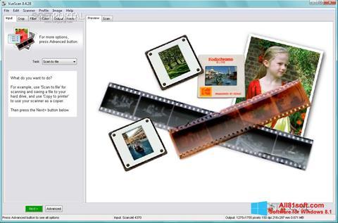 स्क्रीनशॉट VueScan Windows 8.1