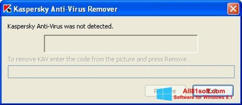 स्क्रीनशॉट KAVremover Windows 8.1