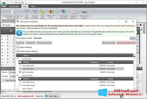स्क्रीनशॉट Key Collector Windows 8.1