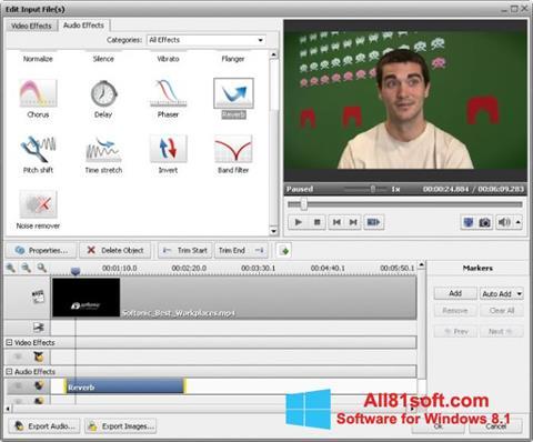 स्क्रीनशॉट AVS Video Converter Windows 8.1
