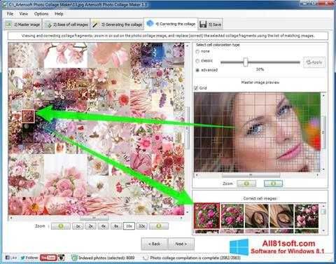 स्क्रीनशॉट Photo Collage Maker Windows 8.1