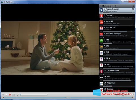 स्क्रीनशॉट IP-TV Player Windows 8.1