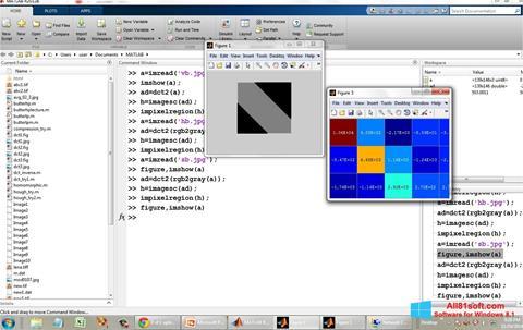 स्क्रीनशॉट MATLAB Windows 8.1