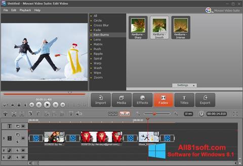 स्क्रीनशॉट Movavi Video Suite Windows 8.1