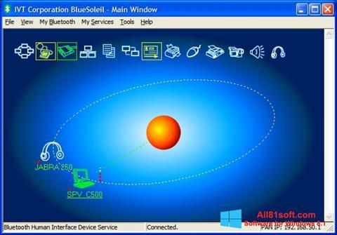 स्क्रीनशॉट BlueSoleil Windows 8.1
