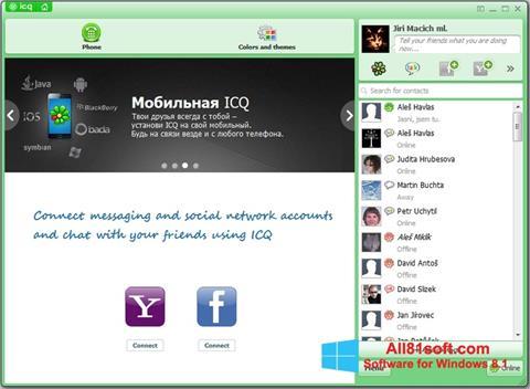 स्क्रीनशॉट ICQ Windows 8.1