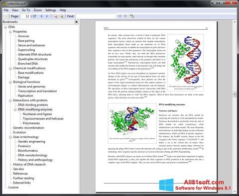 स्क्रीनशॉट Sumatra PDF Windows 8.1