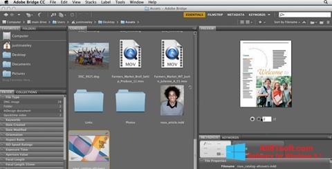 स्क्रीनशॉट Adobe Bridge Windows 8.1