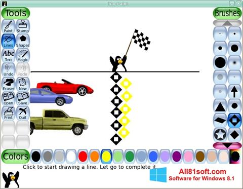 स्क्रीनशॉट Tux Paint Windows 8.1