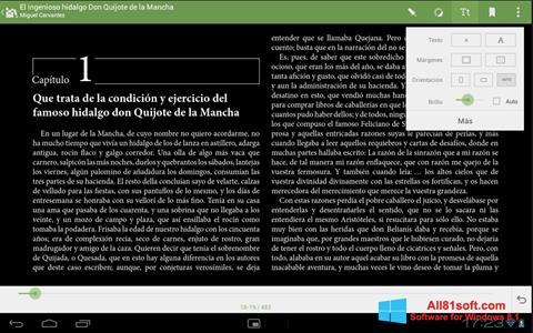 स्क्रीनशॉट BookReader Windows 8.1