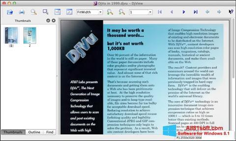 स्क्रीनशॉट DjView Windows 8.1