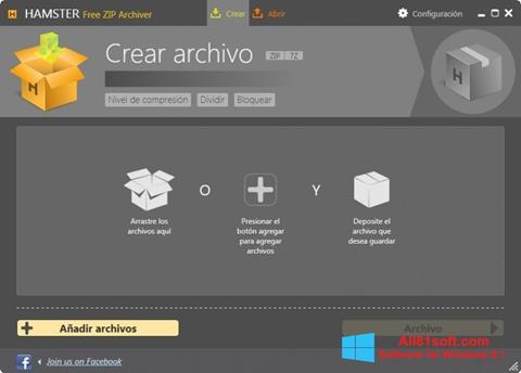 स्क्रीनशॉट Hamster Free ZIP Archiver Windows 8.1