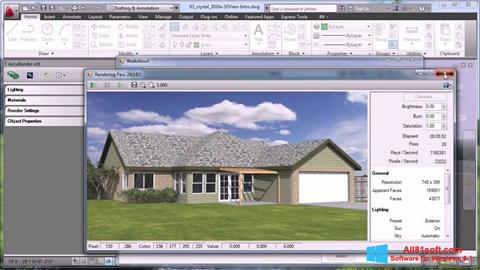 स्क्रीनशॉट AutoCAD Windows 8.1