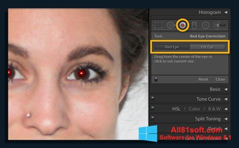 स्क्रीनशॉट Red Eye Remover Windows 8.1