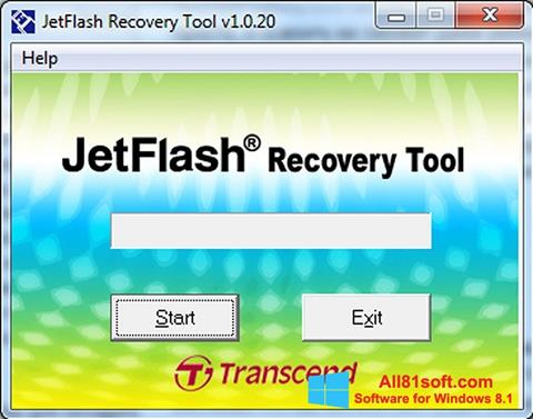 स्क्रीनशॉट JetFlash Recovery Tool Windows 8.1