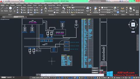 स्क्रीनशॉट AutoCAD Electrical Windows 8.1