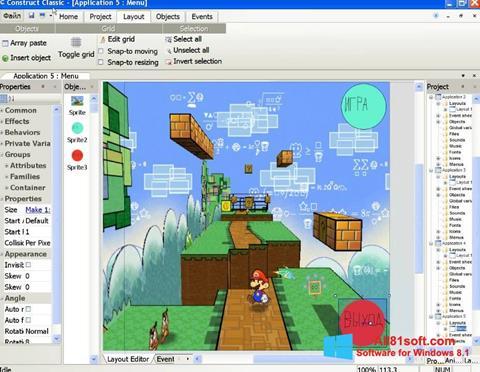 स्क्रीनशॉट Construct Classic Windows 8.1
