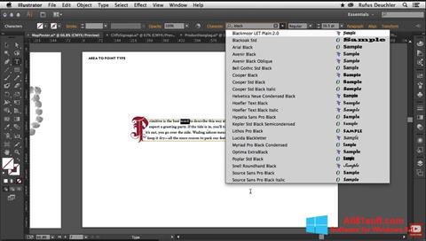 स्क्रीनशॉट Adobe Illustrator Windows 8.1
