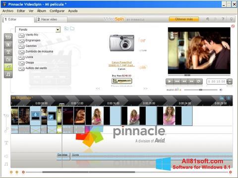 स्क्रीनशॉट Pinnacle VideoSpin Windows 8.1