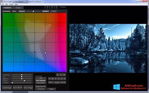 स्क्रीनशॉट 3D LUT Creator Windows 8.1