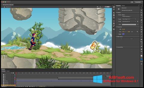स्क्रीनशॉट Adobe Flash Professional Windows 8.1