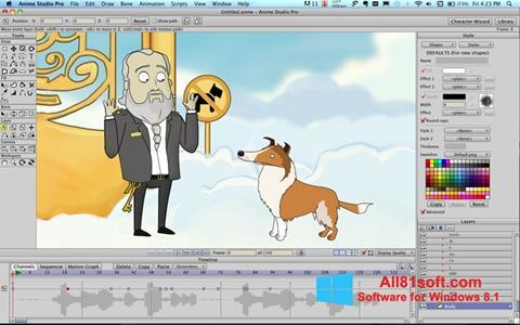 स्क्रीनशॉट Anime Studio Windows 8.1